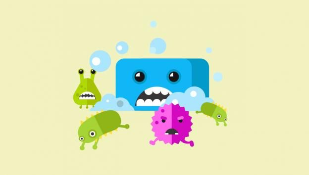 Sabonete e Bactérias