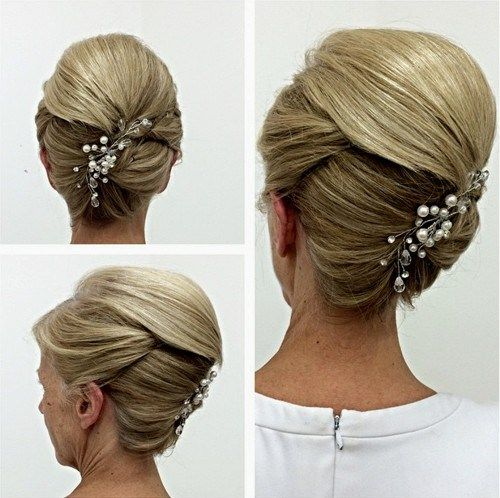 Updo Hairstyles For Weddings Mother Of The Bride: 40 Ravishing Mother Of The Bride Hairstyles