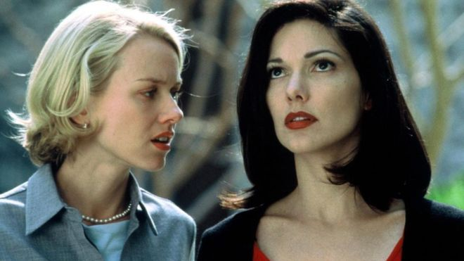 "Escena de ""Mullholland Drive"" con Naomi Watts"