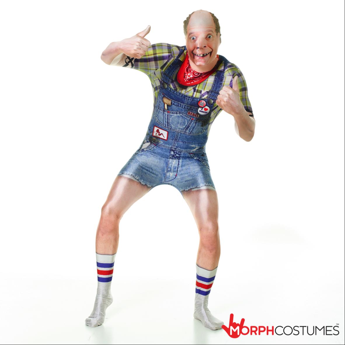Smiffys Smiffys Costume Zombie Hillbilly Blue