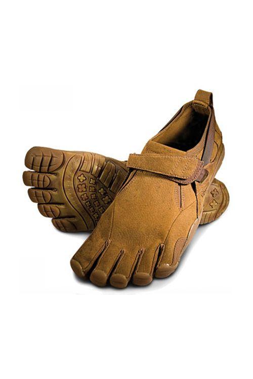 pretty nice 9e36d c749c Vibram Leather Toe Shoes   Vibram FiveFingers Camel Five Fingers Shoes