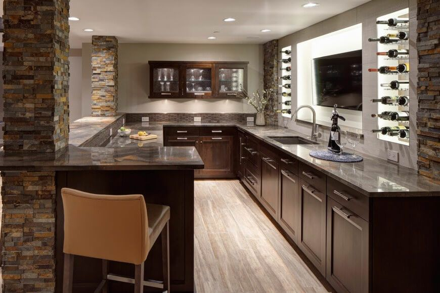70 Incredible Home Bar Design Ideas for 2018 | Living room interior ...