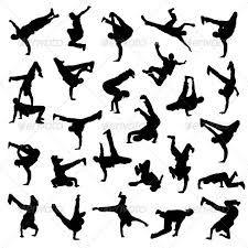 Tattoo Breakdance Museum Dance Silhouette Dancing Drawings Hip