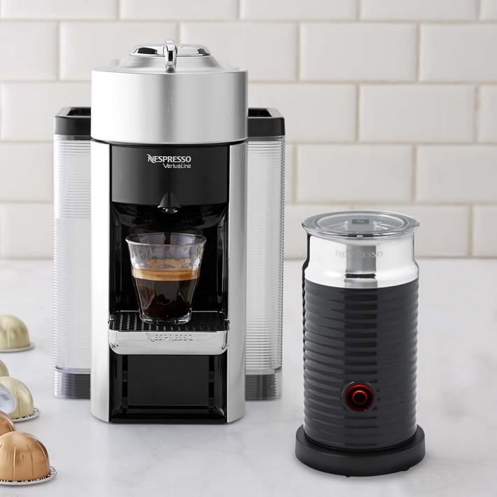 Nespresso Vertuo Coffee Maker Espresso Machine By De Longhi With Aeroccino Williams Sonoma Coffee And Espresso Maker Nespresso Coffee Maker