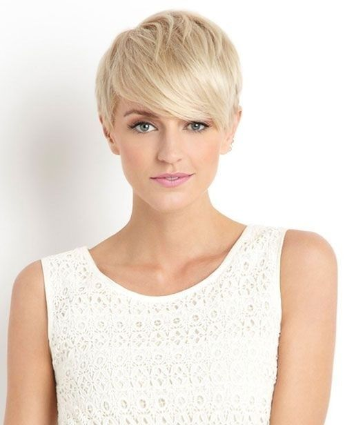 26 Best Short Haircuts For Long Face Popular Haircuts Short Blonde Hair Blonde Pixie Hair Short Blonde
