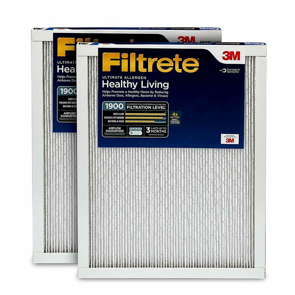 AIR CONDITIONER FURNACE AC FILTER SMART MPR 1900 20X30X1