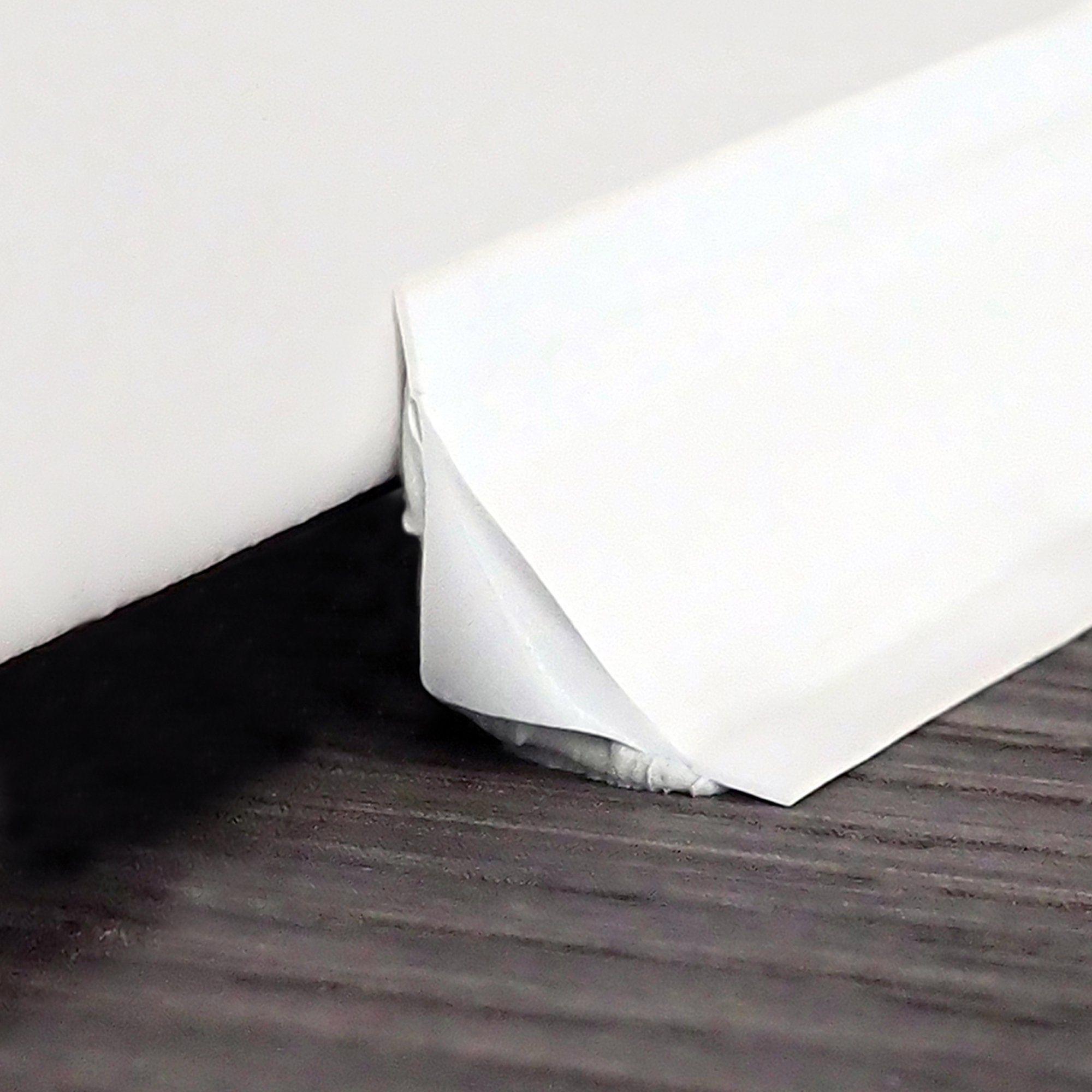 Instatrim 3 4 Flexible Trim Moulding Caulk Strips White 50 Ft 1 Pack Walmart Com In 2020 Moldings And Trim Baseboards Caulk Strips