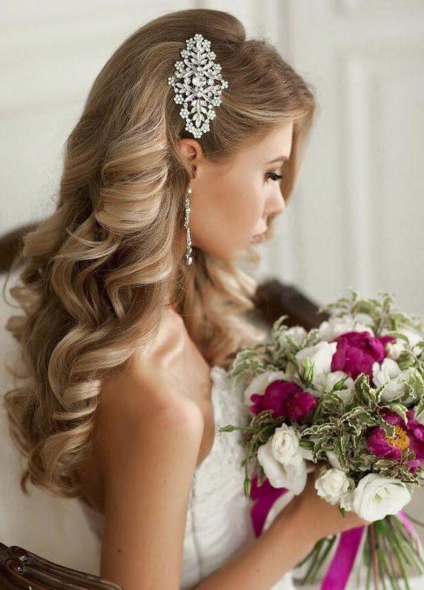 Peinados Para Boda Civil : peinados, civil, Peinados, Novia, Actuales, Fotos, Tendencias, Novias, Bodas, Wedding, Hair,, Winter