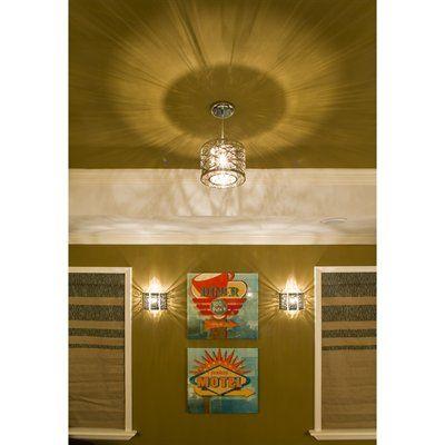et2 lighting e21302 10pc inca wall sconce polished chrome