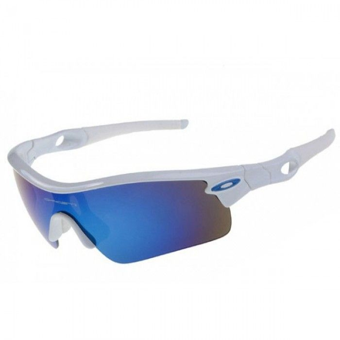 oakley radar path sunglasses white frame blue iridium lens oakley rh pinterest com