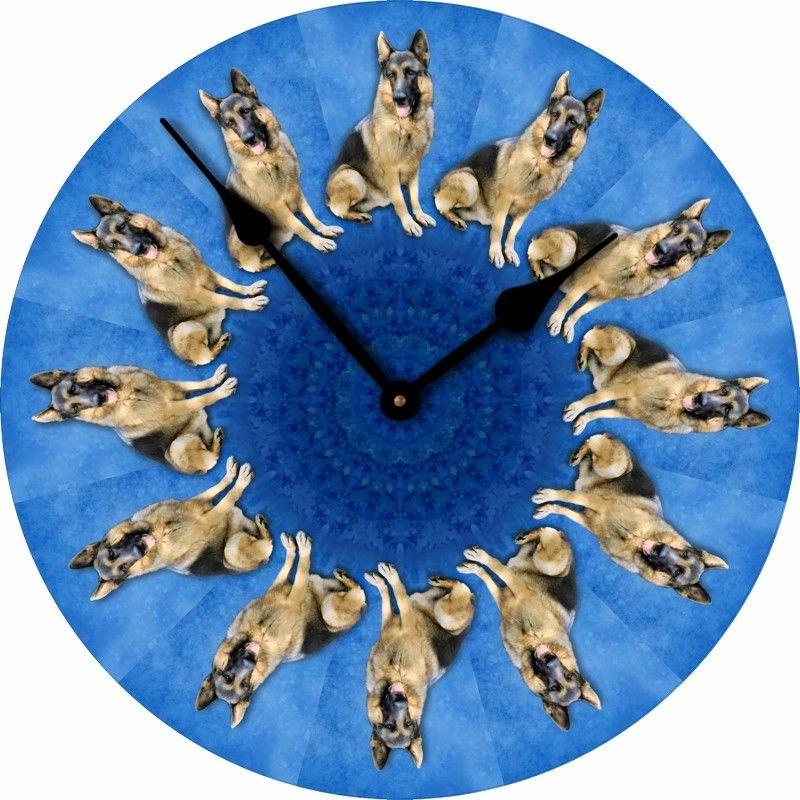Dog · German Shepherd Dog Wall Clock ...