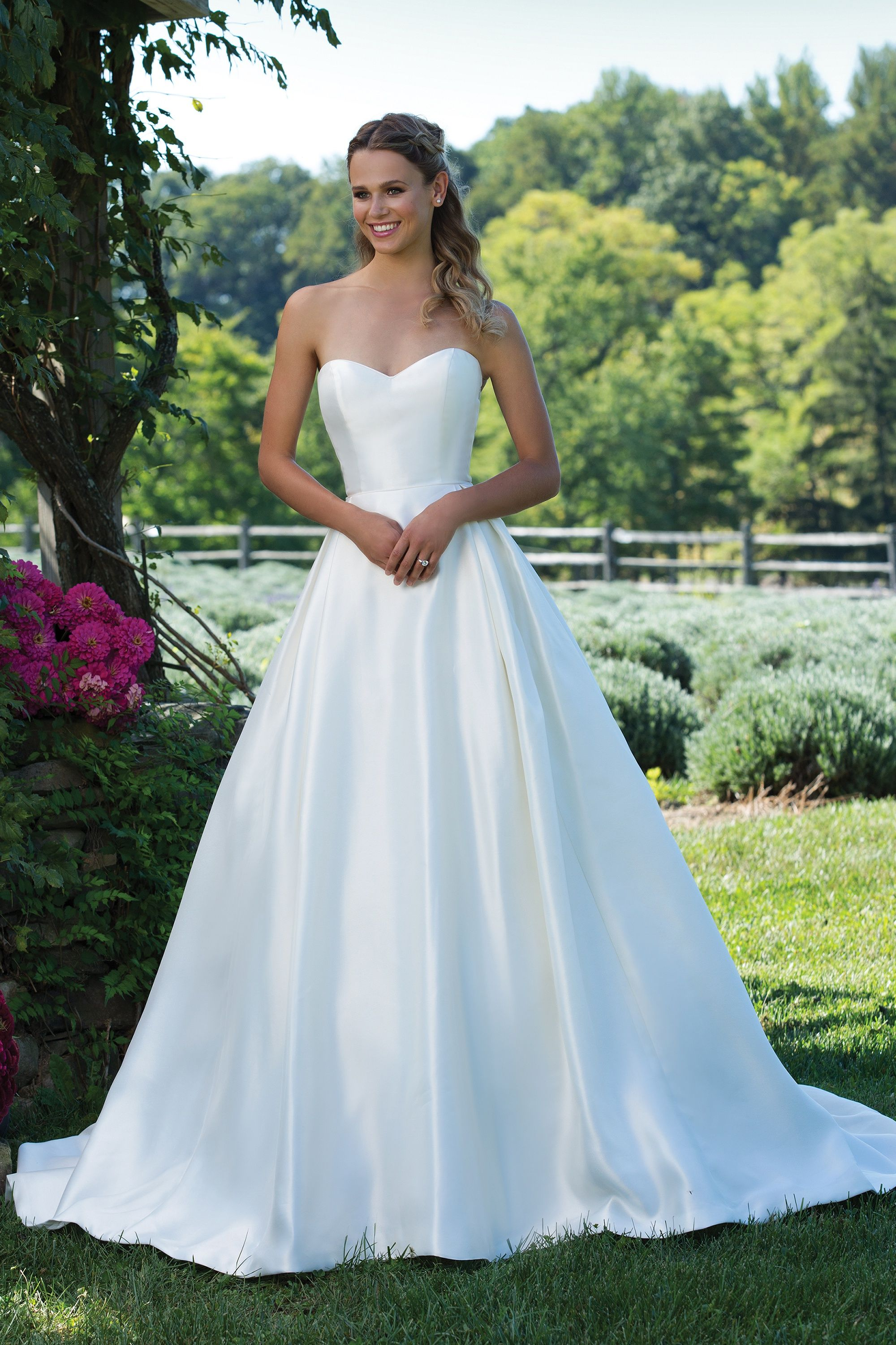 Sincerity #3997 Full Mikado Ball Gown with Classic Sweetheart ...