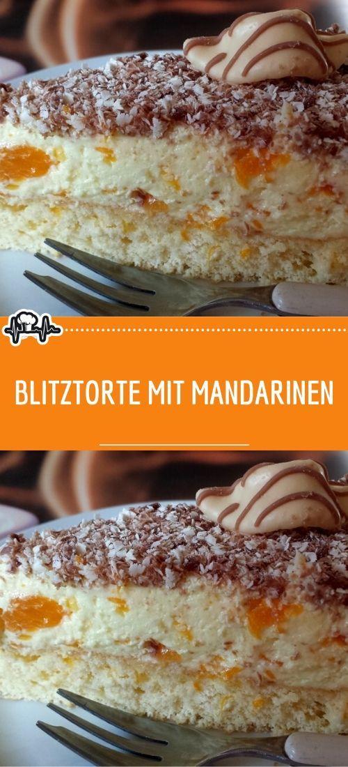 Blitztorte mit Mandarinen – Die Küche