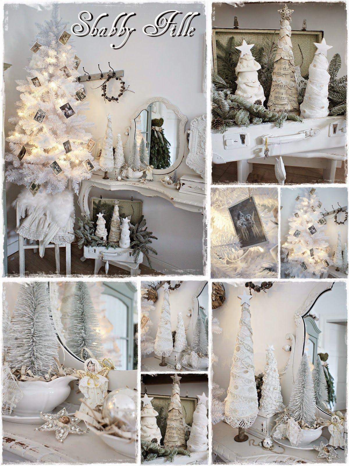 Shabby Weihnachtsdeko Deko Winter Weihnachten Deko