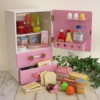 Kinderkühlschrank - tolle Ergänzung zur Kinderküche DIY - kinder spiel k chen