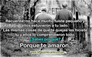 El Amor Maduro Ante Los Padres Ancianos Amor Maduro Frases