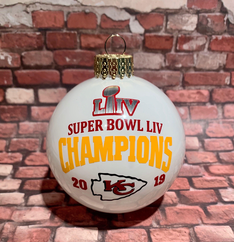 Superbowl 2020 Christmas Ornaments Pin on KANSAS CITY CHIEFS