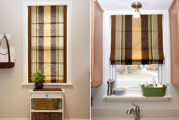 Do It Yourself Cordless Roman Shade  Curtains And Rods