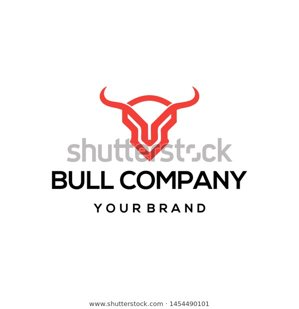 Bull Horn Animal Silhouette Farm Icon Isolated And Flat Illustration Vector And Png Ilustracoes Churrasco