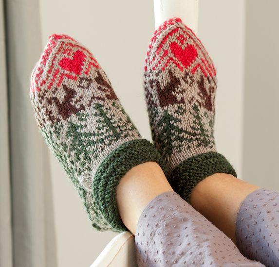 Martingale Knitting Scandinavian Slippers And Socks Ebook Knitted Slippers Pattern Slippers Pattern Knitting