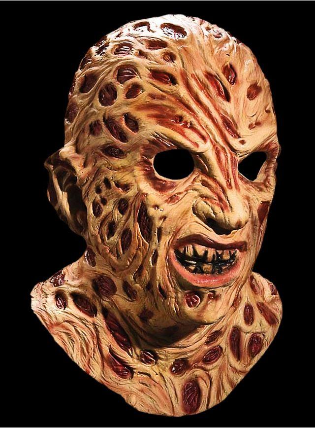 Official Freddy Krueger Deluxe Latex Full Mask #halloween #horror