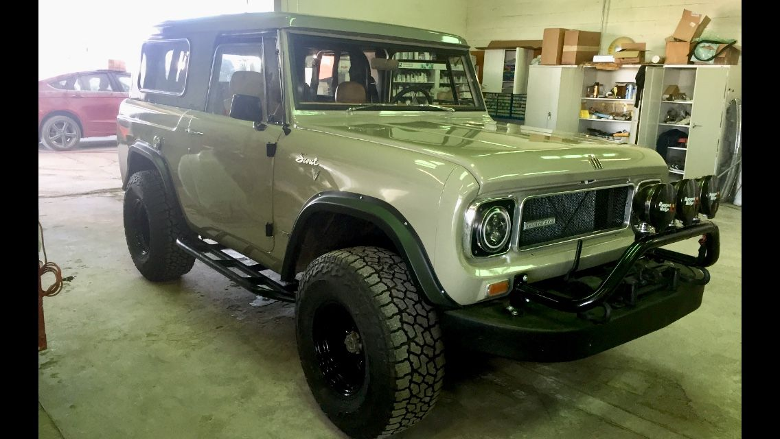 1968 Scout 800, this is number 3 done in this same color codes with on