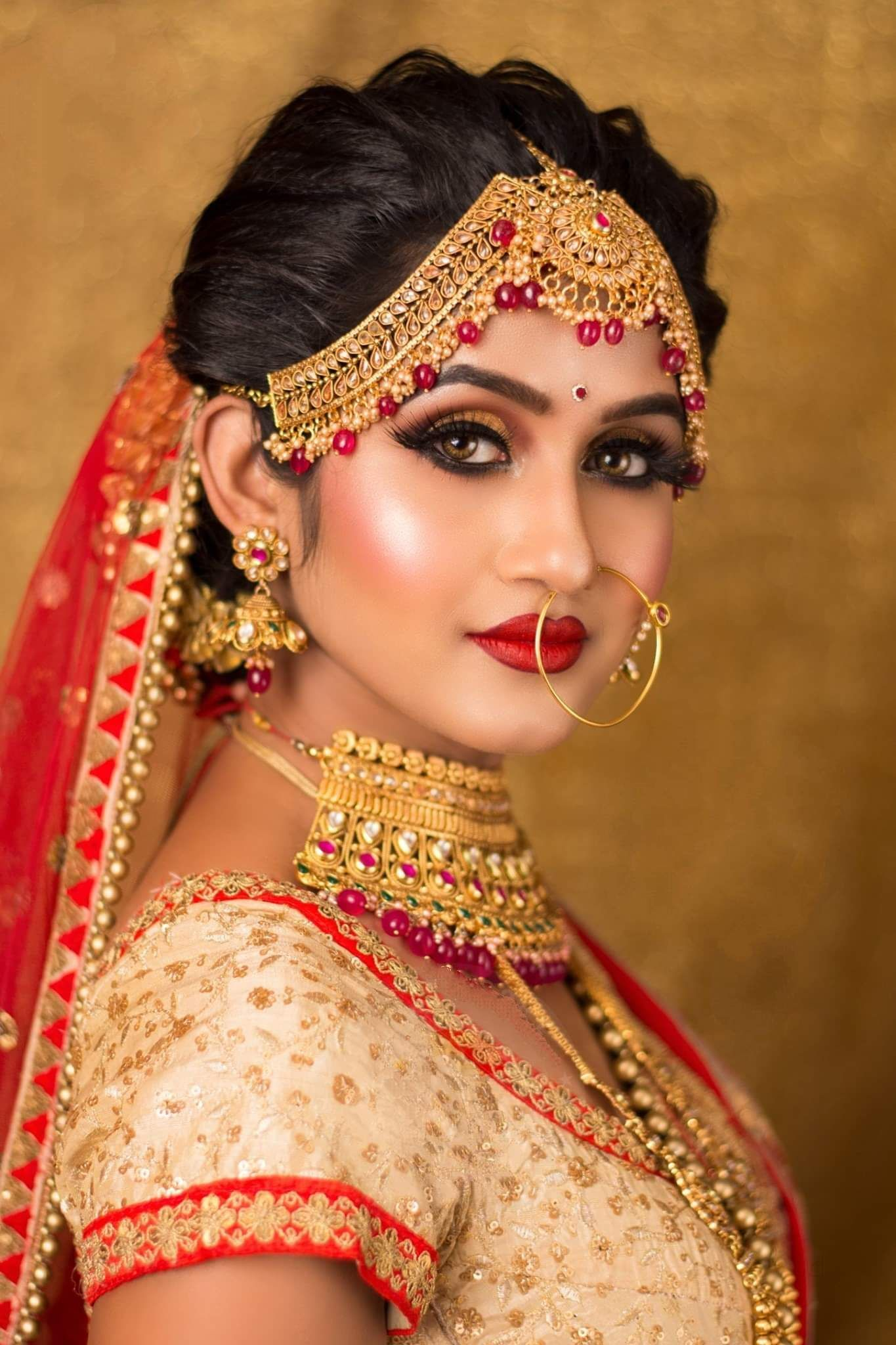 Pin by Safayet jamil Nafi on gallari Bridal makeup