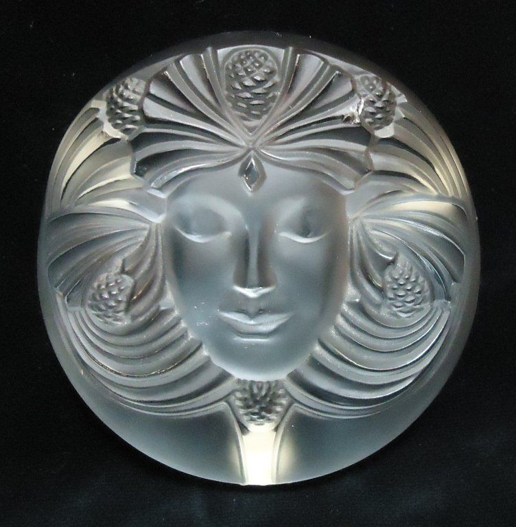 My new Lalique crystal paperweight to add to my collection, found on eBay last night...