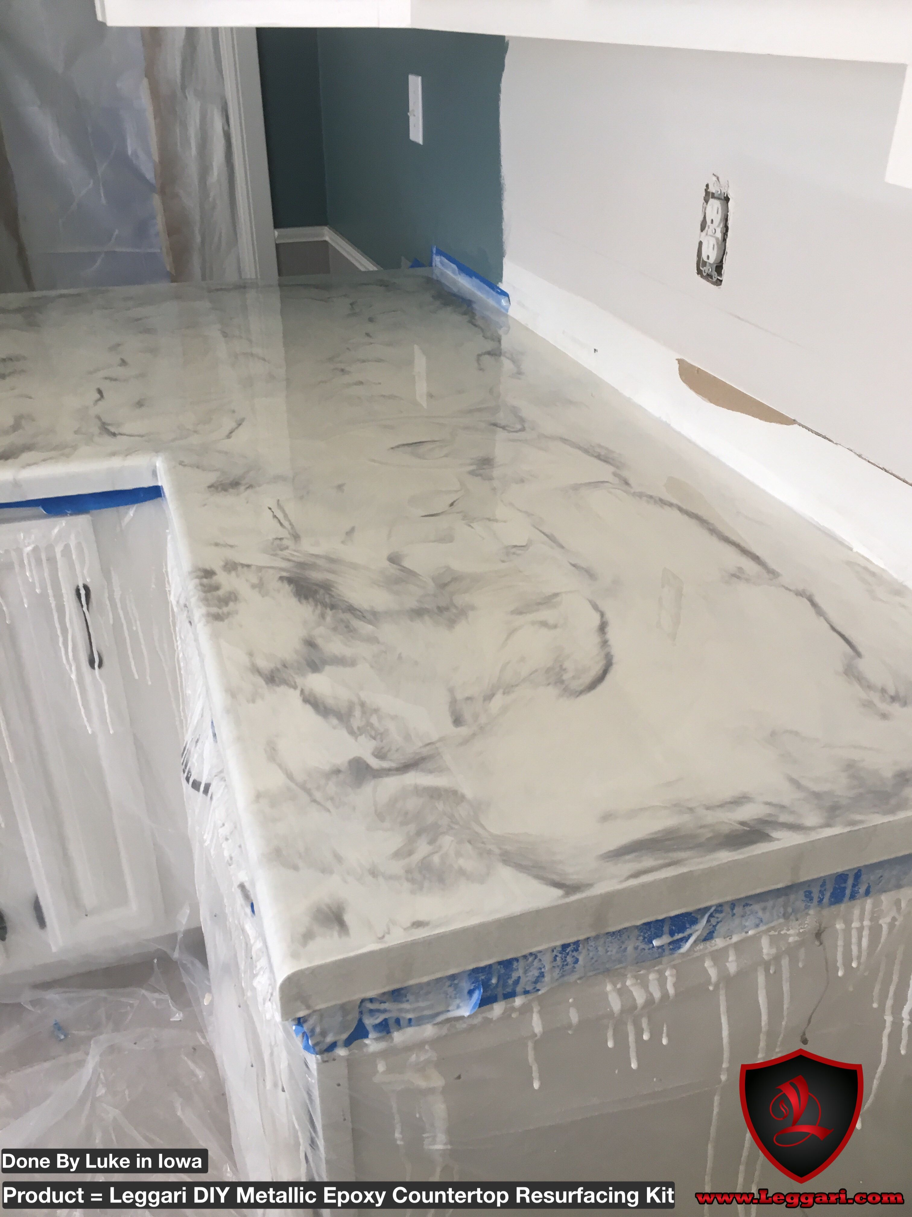 Painting Laminate Countertops White