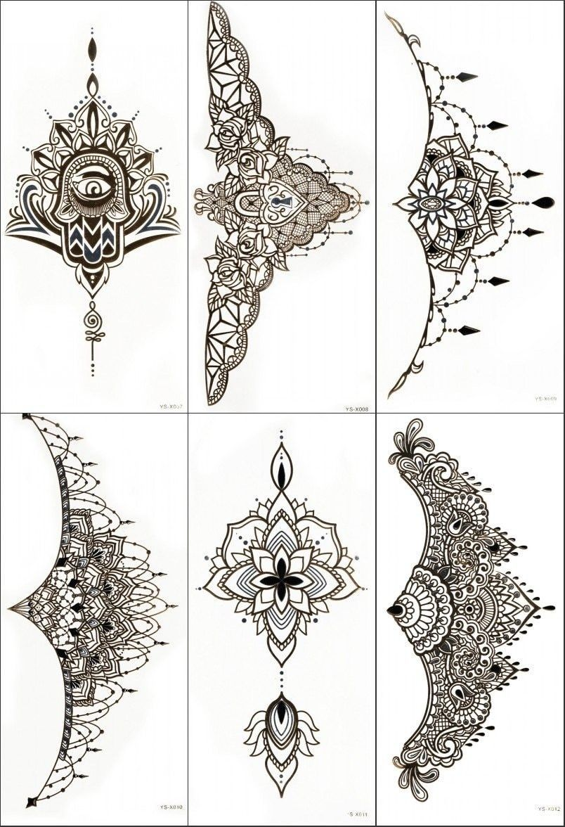 Sternum Tattoo Sternum Tattoo Lace Tattoo Sternum Tattoo Design