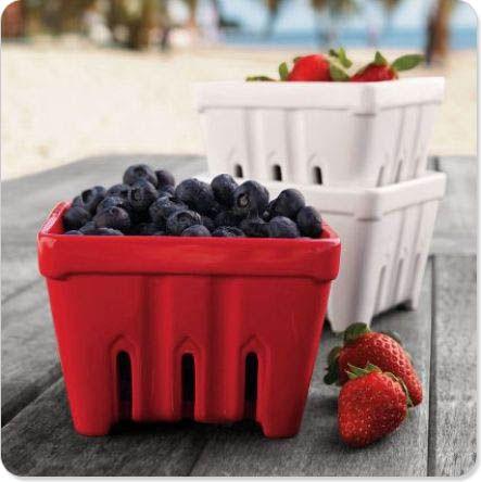 df79484646c8e Ceramic Berry Basket | Ceramics