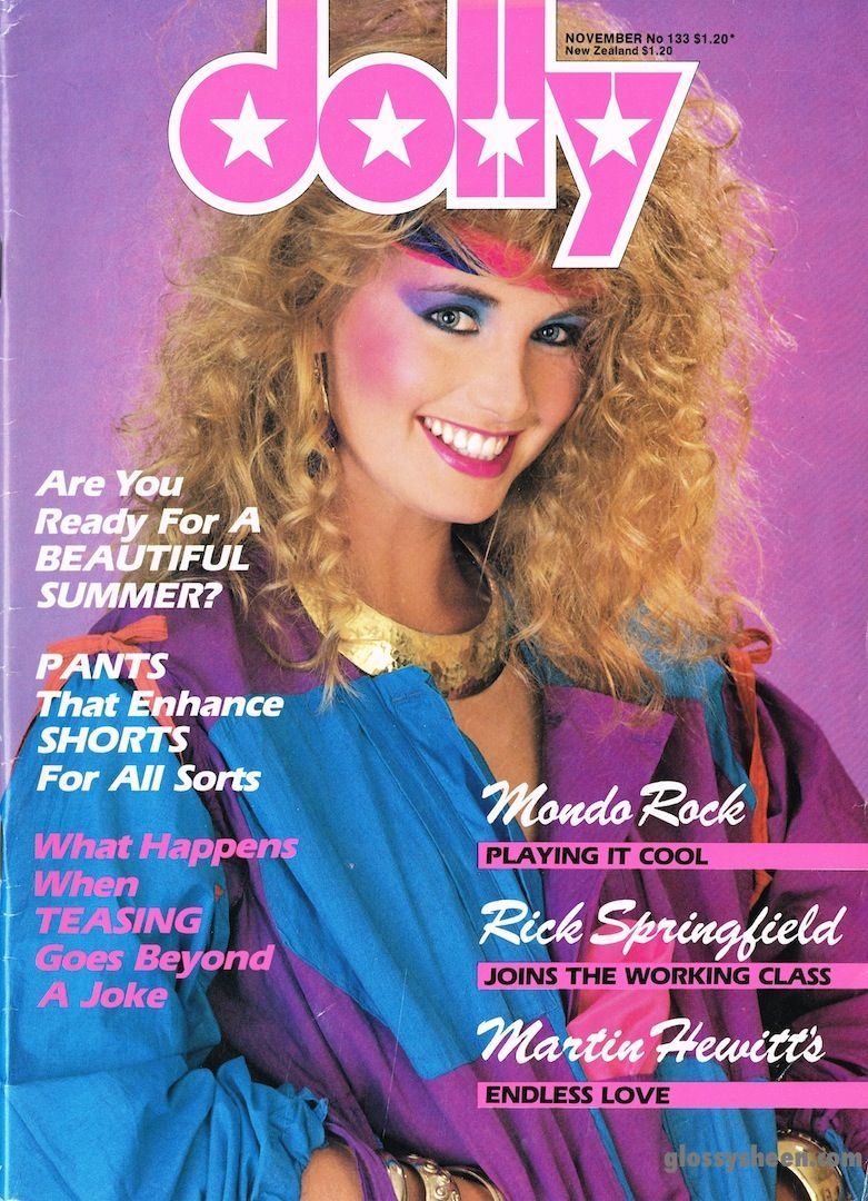 Must Find Back Issues Of This Magazine 1980s Makeup And Hair