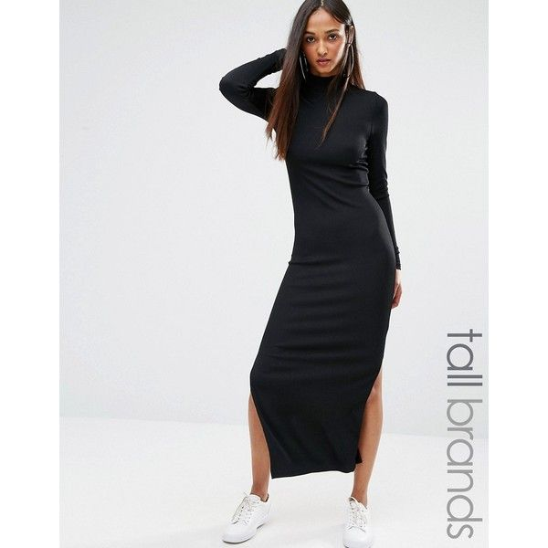 Black dress long 900