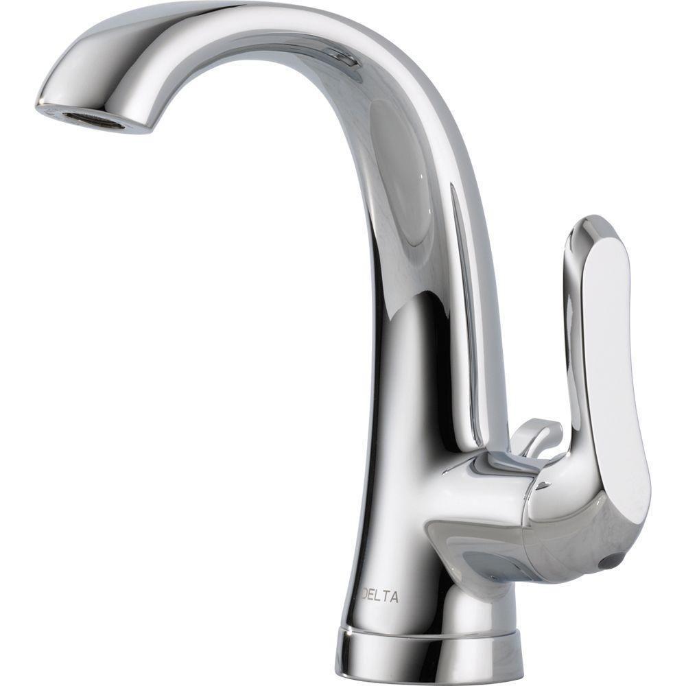 Delta Soline 4 Incenterset Singlehandle Bathroom Faucet With Cool Delta Single Hole Bathroom Faucet Review