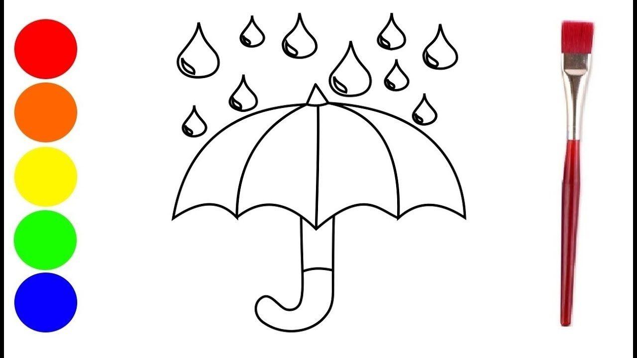 Paraplu Tekenen Tekenen Voor Kinderen Kleurplaat Hoe Teken Je Een Tekenen Voor Kinderen Voor Kinderen Paraplu