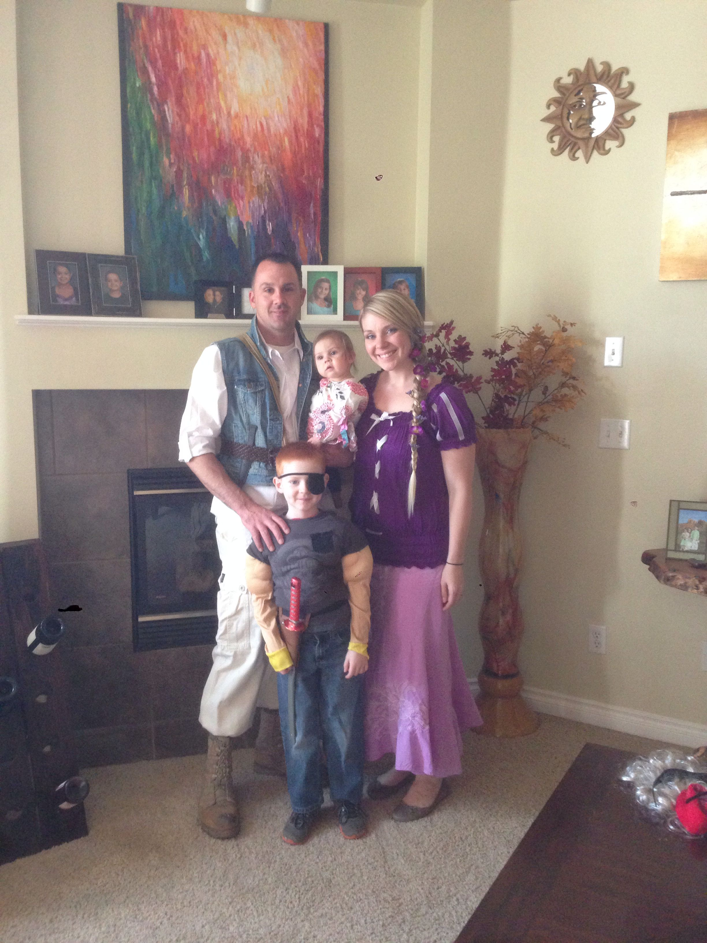 Diy Adult Rapunzel And Flynn Rider Costume Tangled My Pins