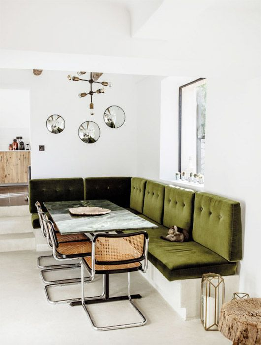 at home in southern france. (sfgirlbybay) | Esszimmer, Einrichtung ...