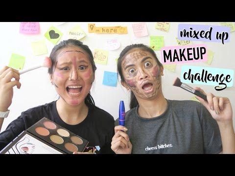 Mixed Up Makeup Challenge! ft.Pamela Swing http://makeup-project.ru/2017/04/19/mixed-up-makeup-challenge-ft-pamela-swing/