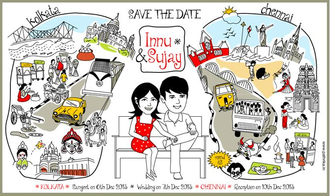 Supplier Spotlight Pathrika-Wedding Invitation Cards With A Twist - invitation card kolkata