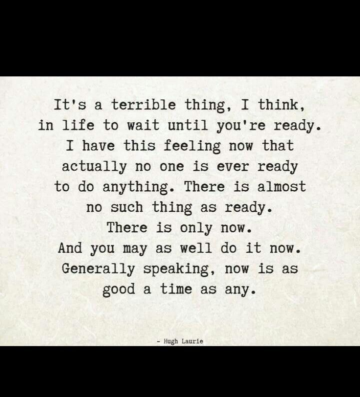 its a terrible thing, i think