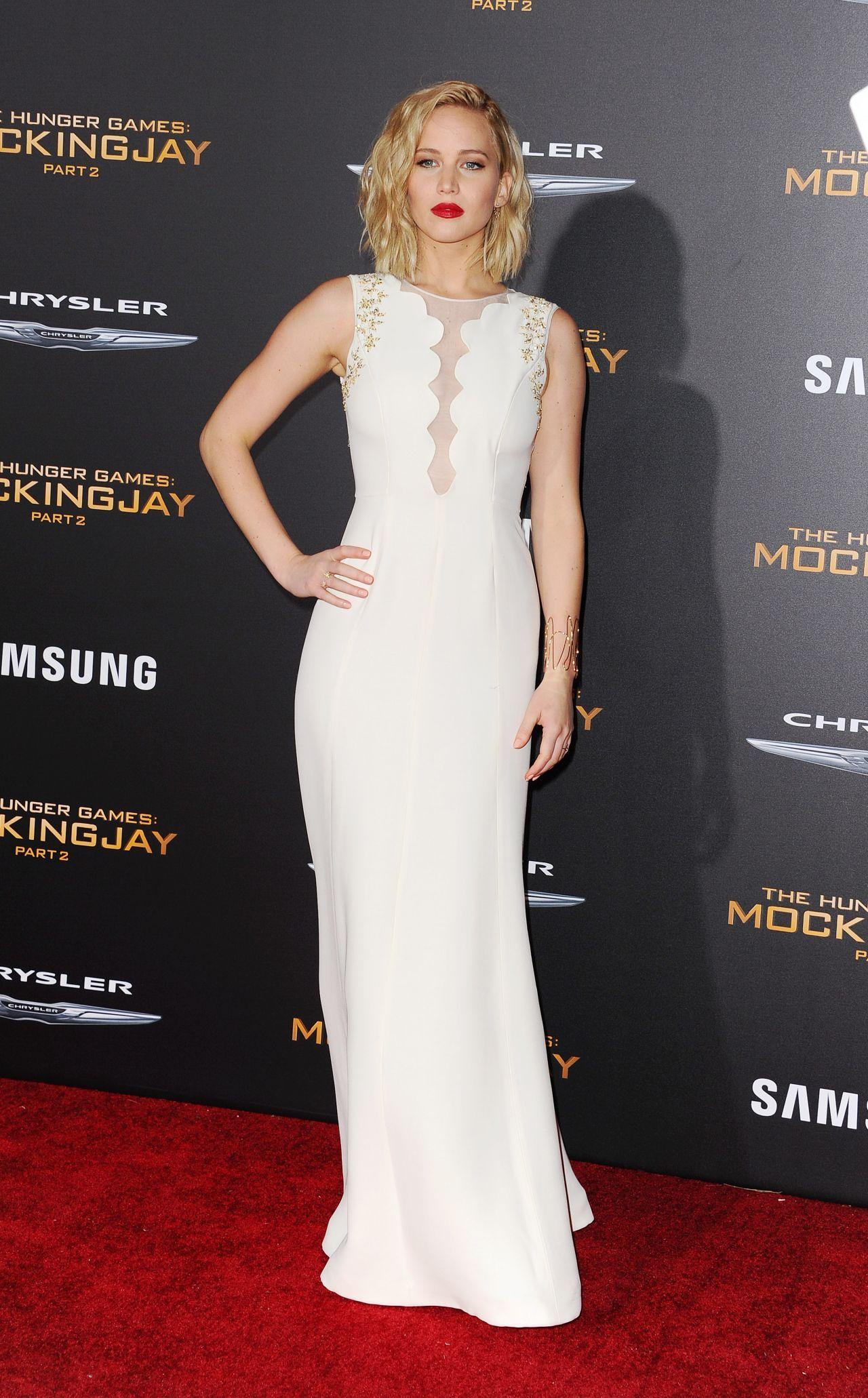 Jennifer Lawrence   Vestido de famosa, Estilo de jennifer ...