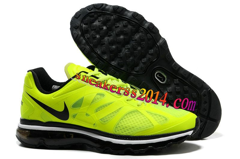 info for 9ee6f 409b1 57.41 Womens Nike Air Max 2012 Volt Black White Shoes Volt Womens  Sneakers