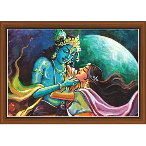 Radha Krishna Paintings Rk 9333 Krishna Painting Painting Bird Artwork
