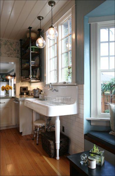 Pedestal Kitchen Sink
