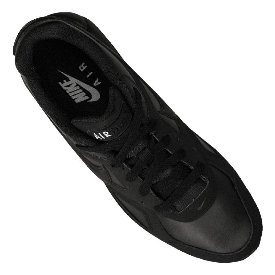 Buty Nike Air Max Ivo Leather M 580520 002 Czarne Nike Air Max Nike Air Nike