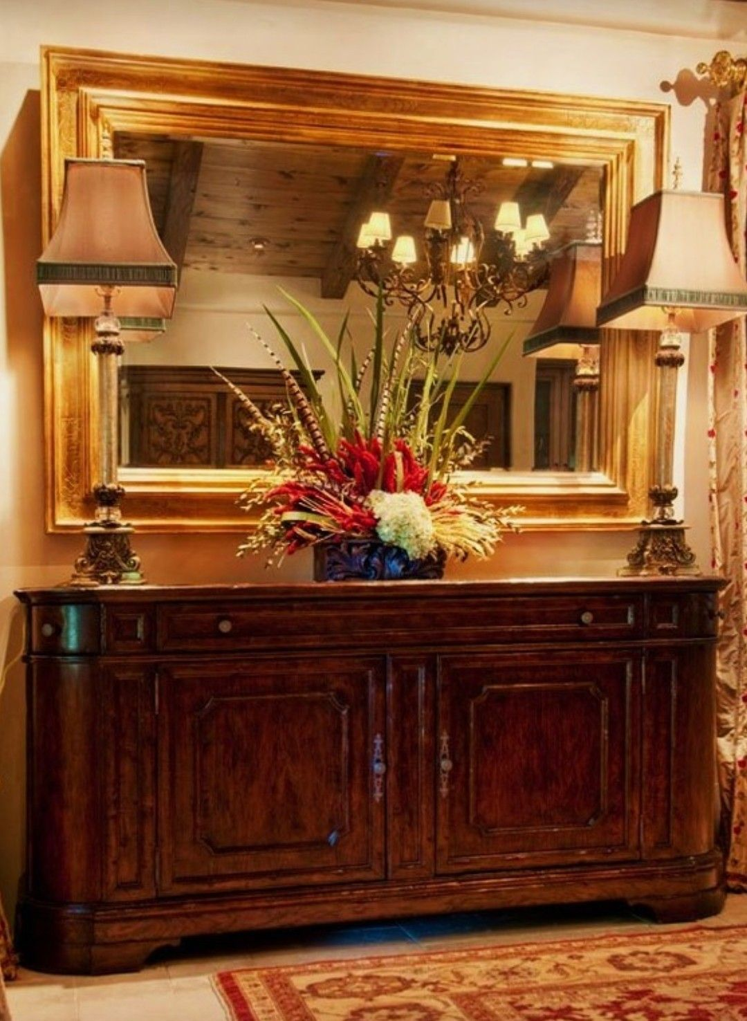 Small kitchen by Anh Nguyen | Buffet decor, Buffet table ...