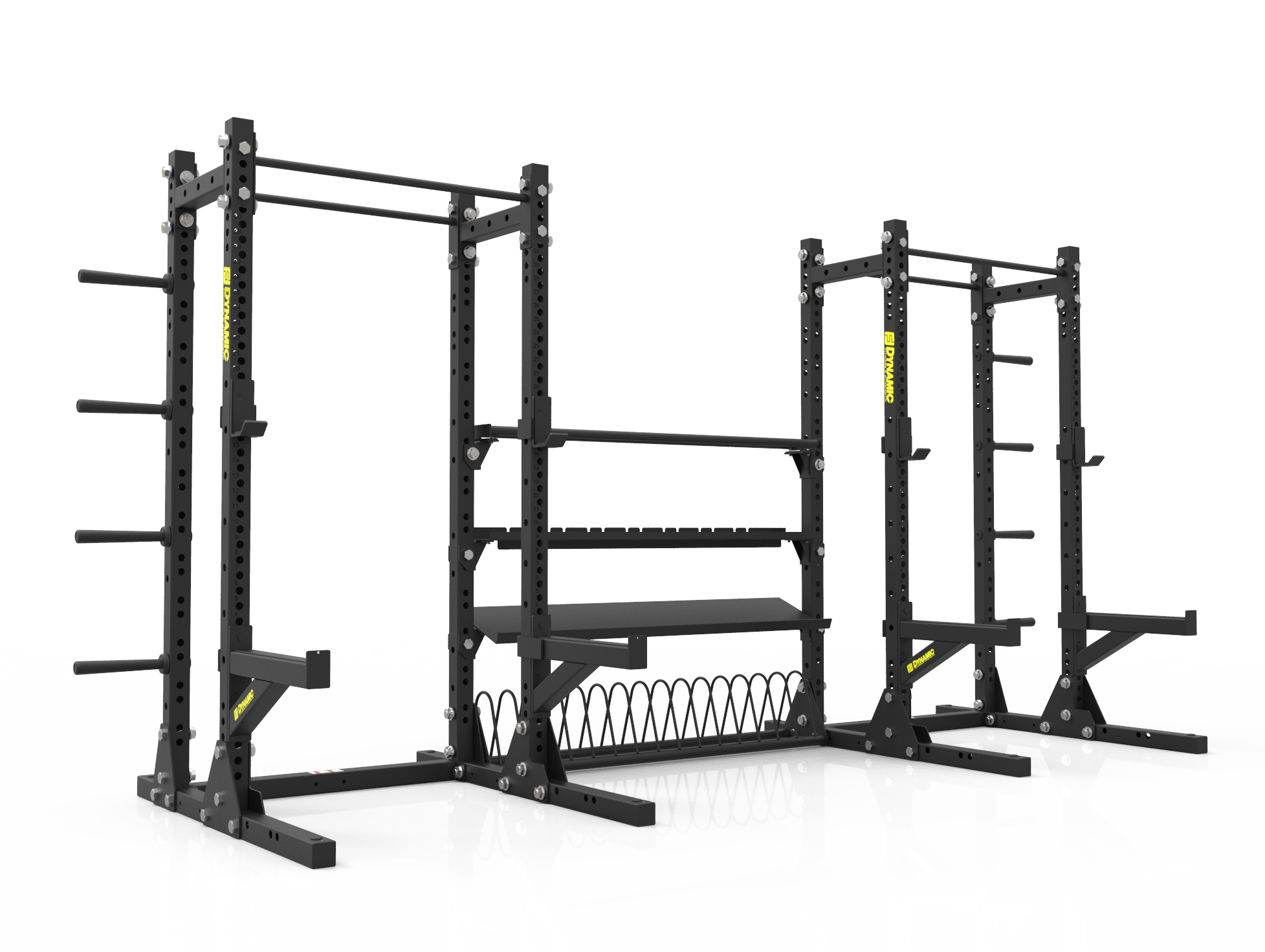 Annex Squat Rack System Dynamic Fitness
