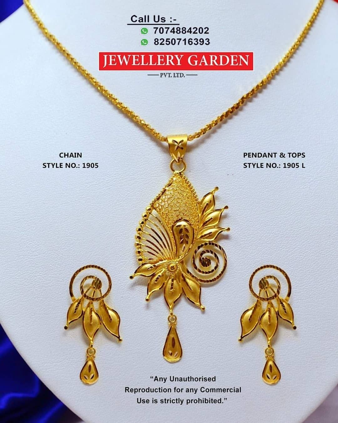 Pin By Ajay Shaw On Ajay Shaw Gold Chain With Pendant Gold