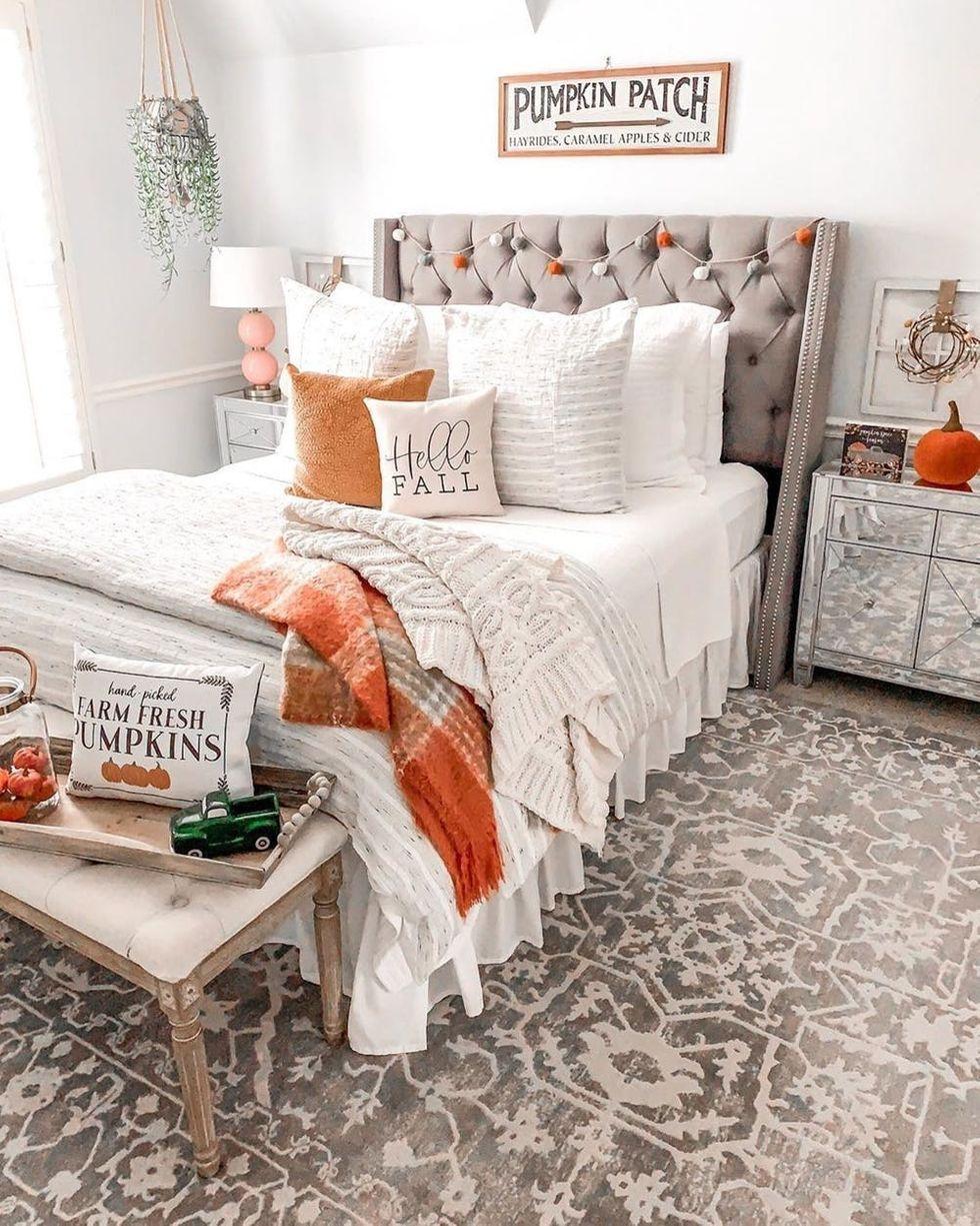 20++ Fall bedroom decor trends