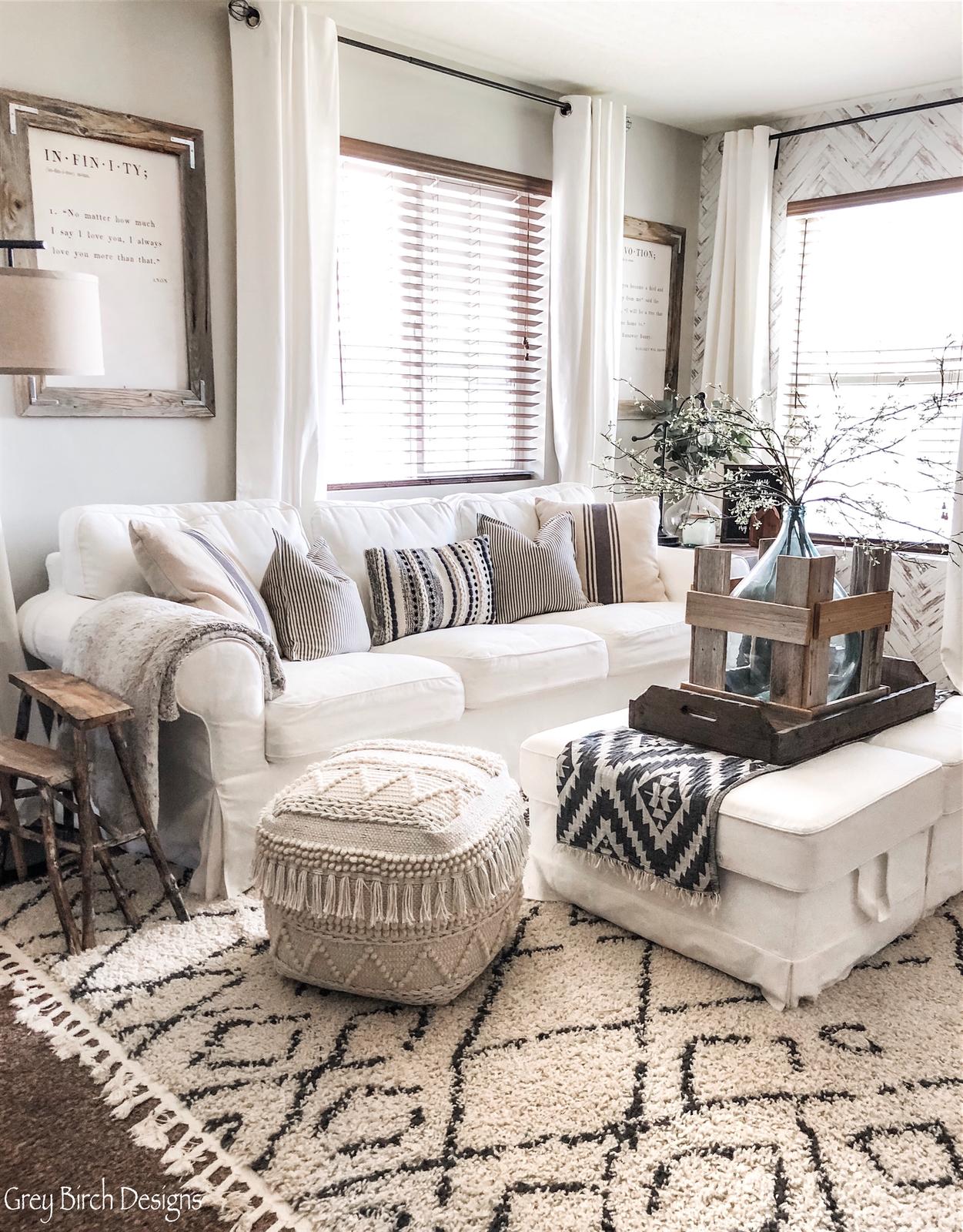 Living Room Decor Goals Grey Birch Designs Has The Dreamiest